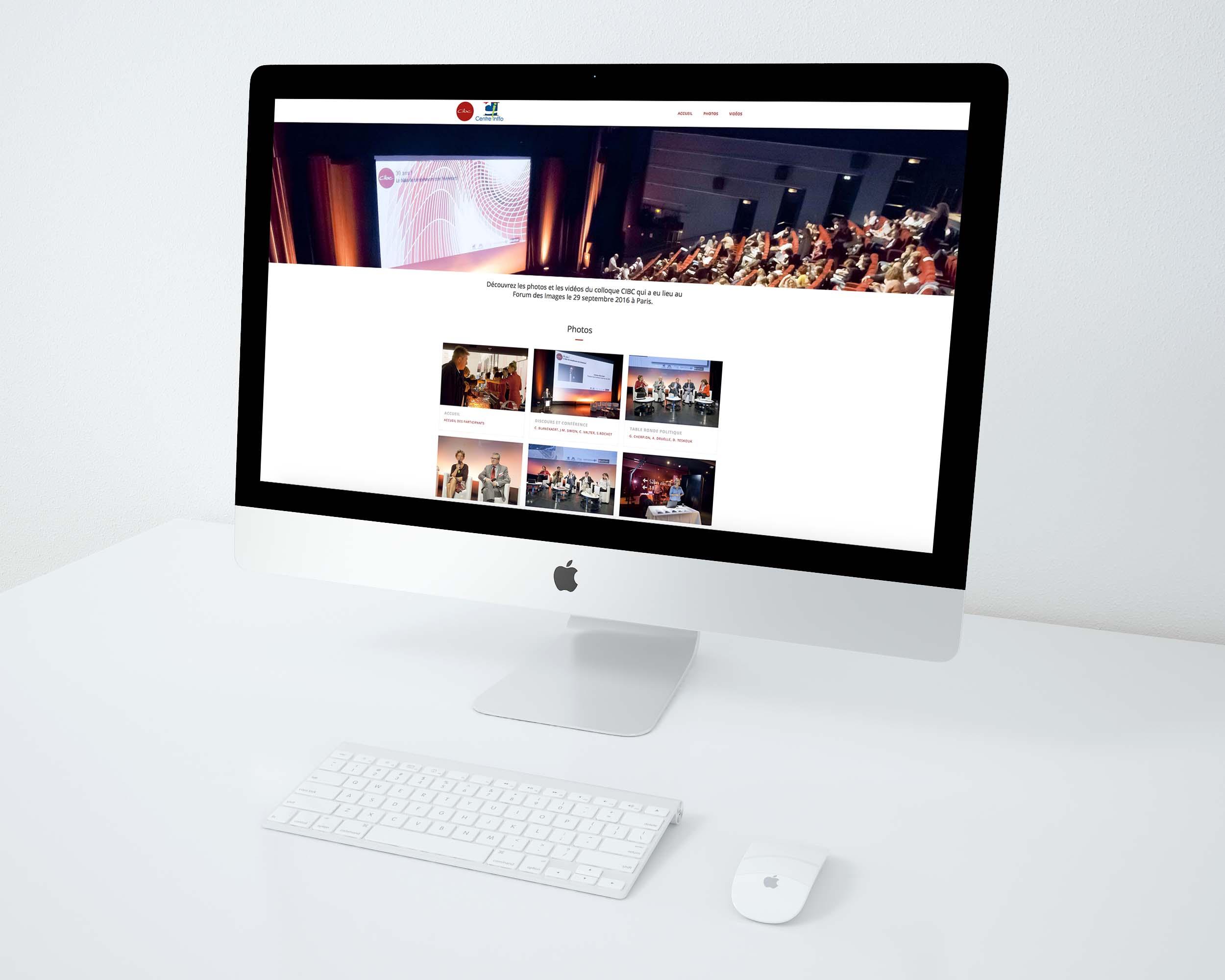 communication visuelle et production audiovisuelle, centre de bilans de compétences, convention, forum des images, webdesign, photos, vidéos, colloque, jingle, sites internet